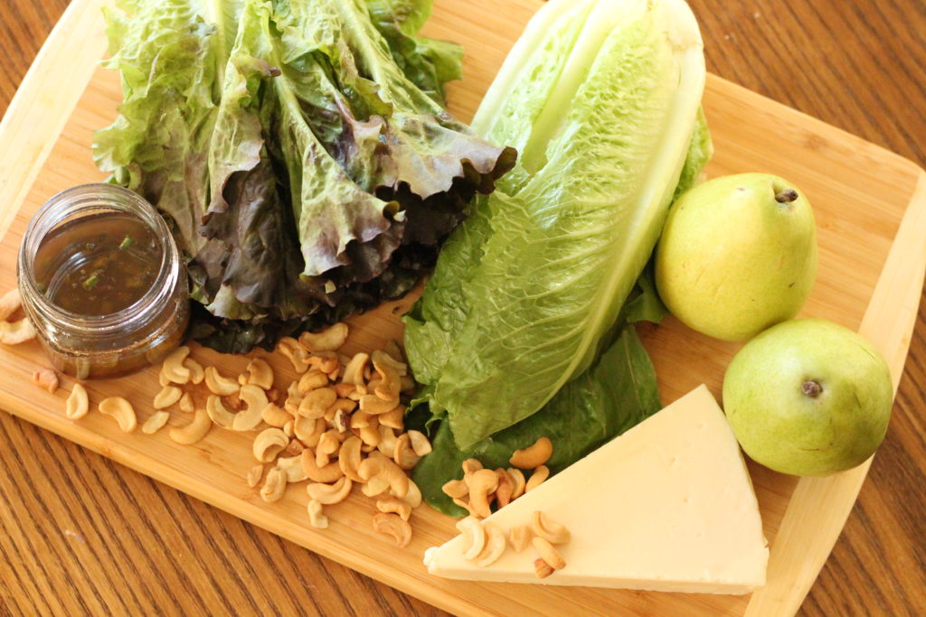 pear salad ingredients