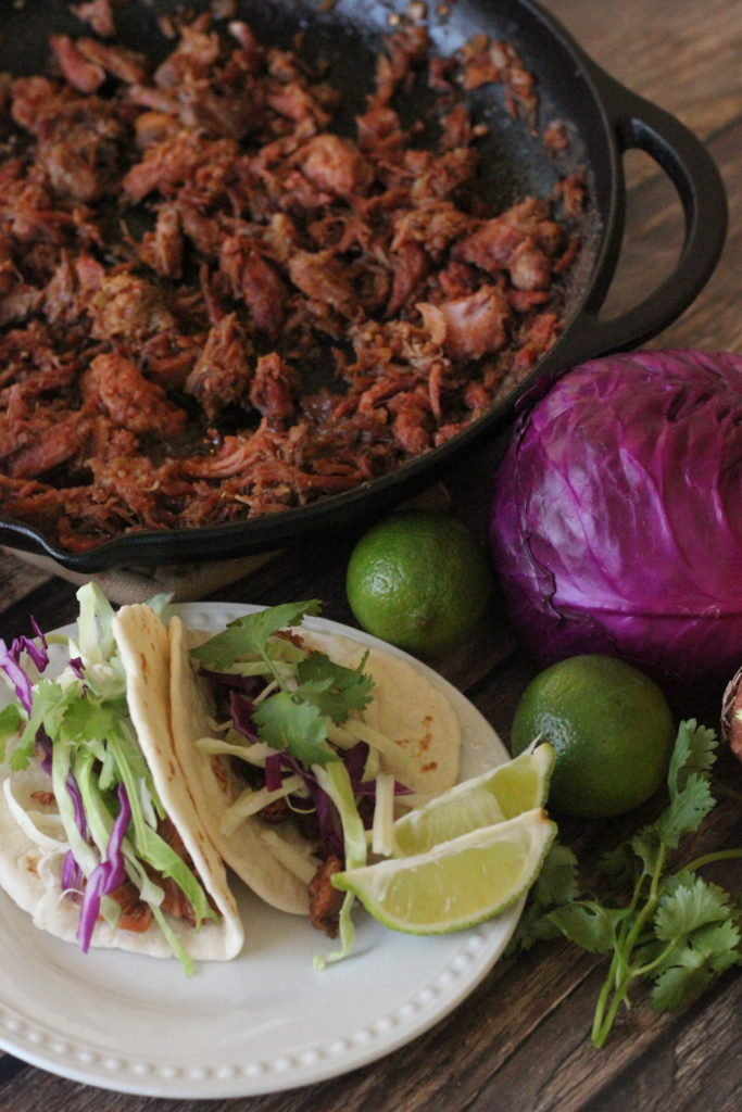simple pulled pork tacos