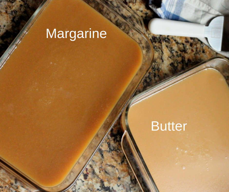 Butter and Margarine caramels