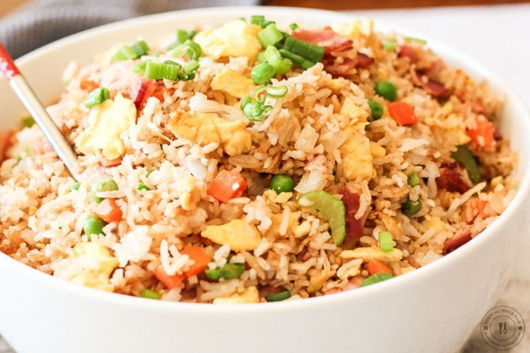 bowl of fried rice