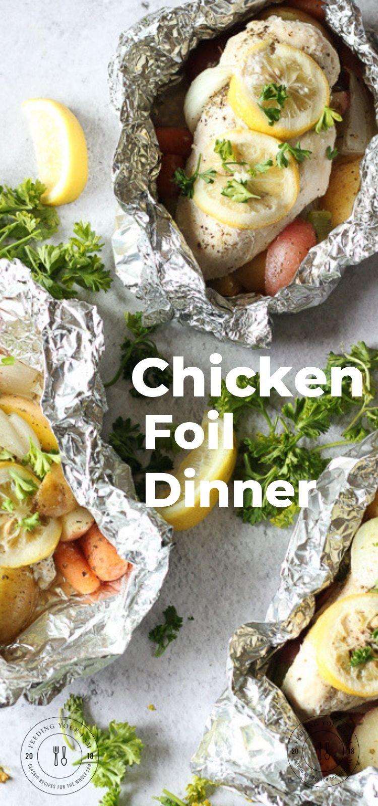 chicken foil pack dinner