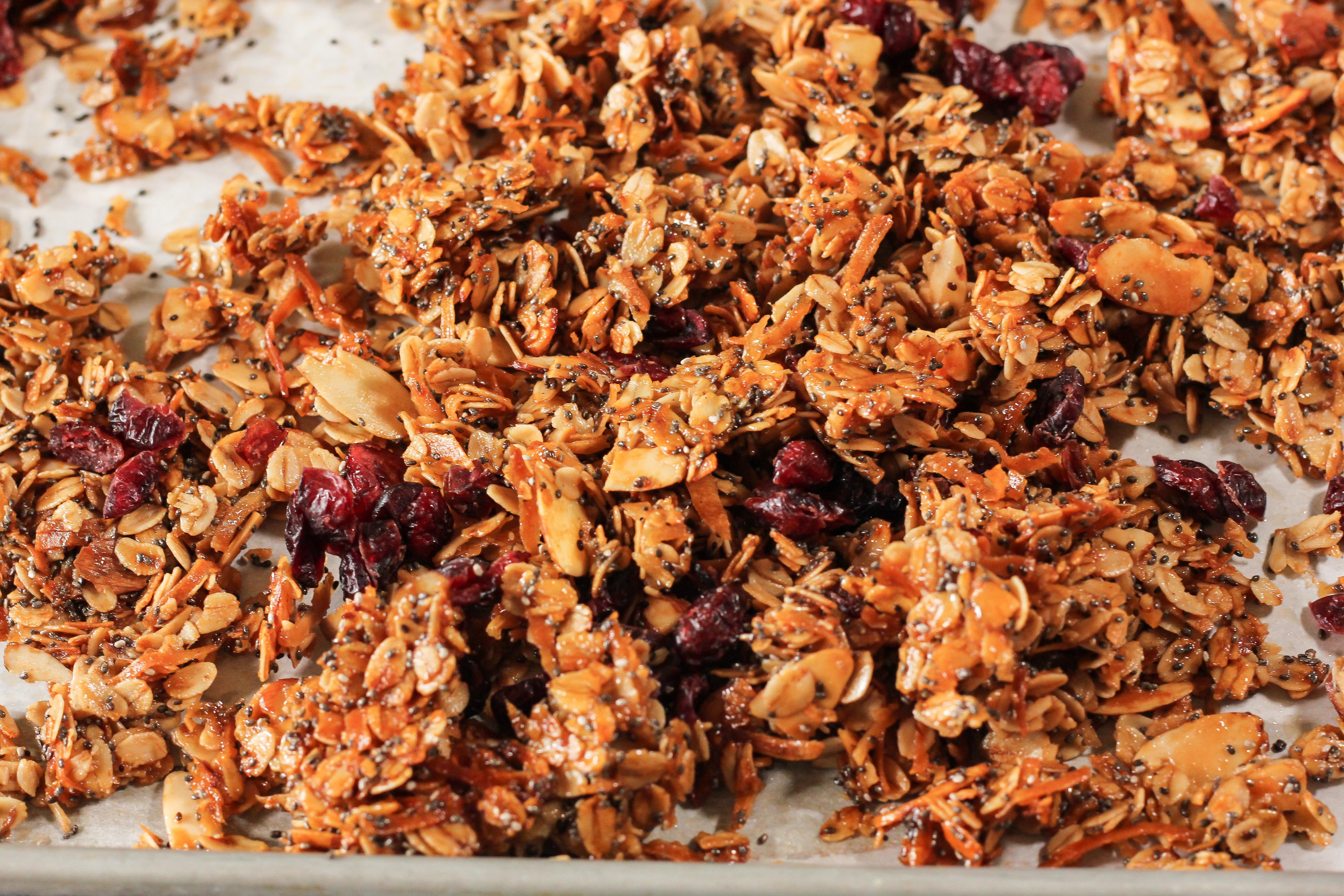 cooked granola