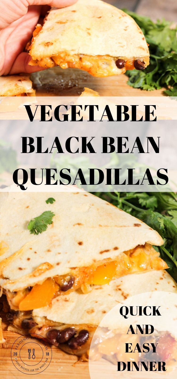 cooked cheese vegetable black bean quesadillas