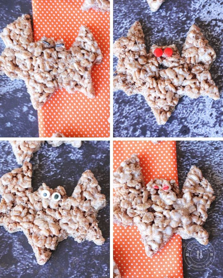 bat rice krispie eyes