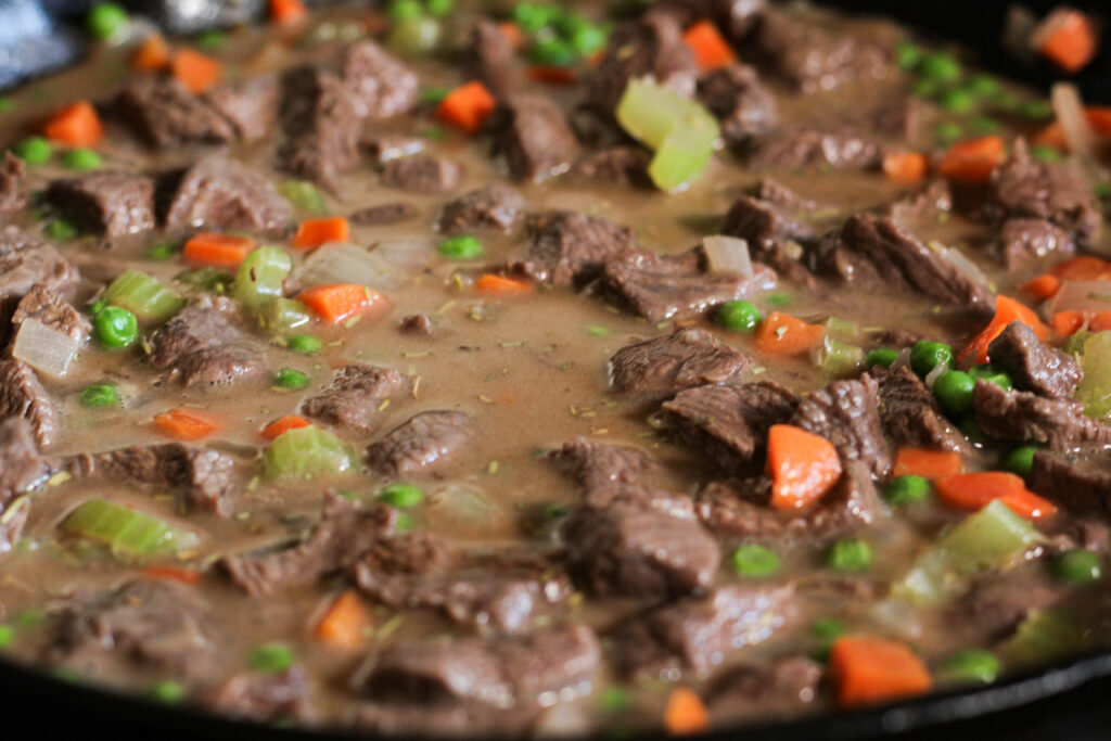 beef pot pie filling