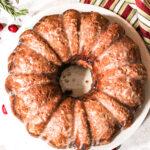 cranberry almond bundt cake
