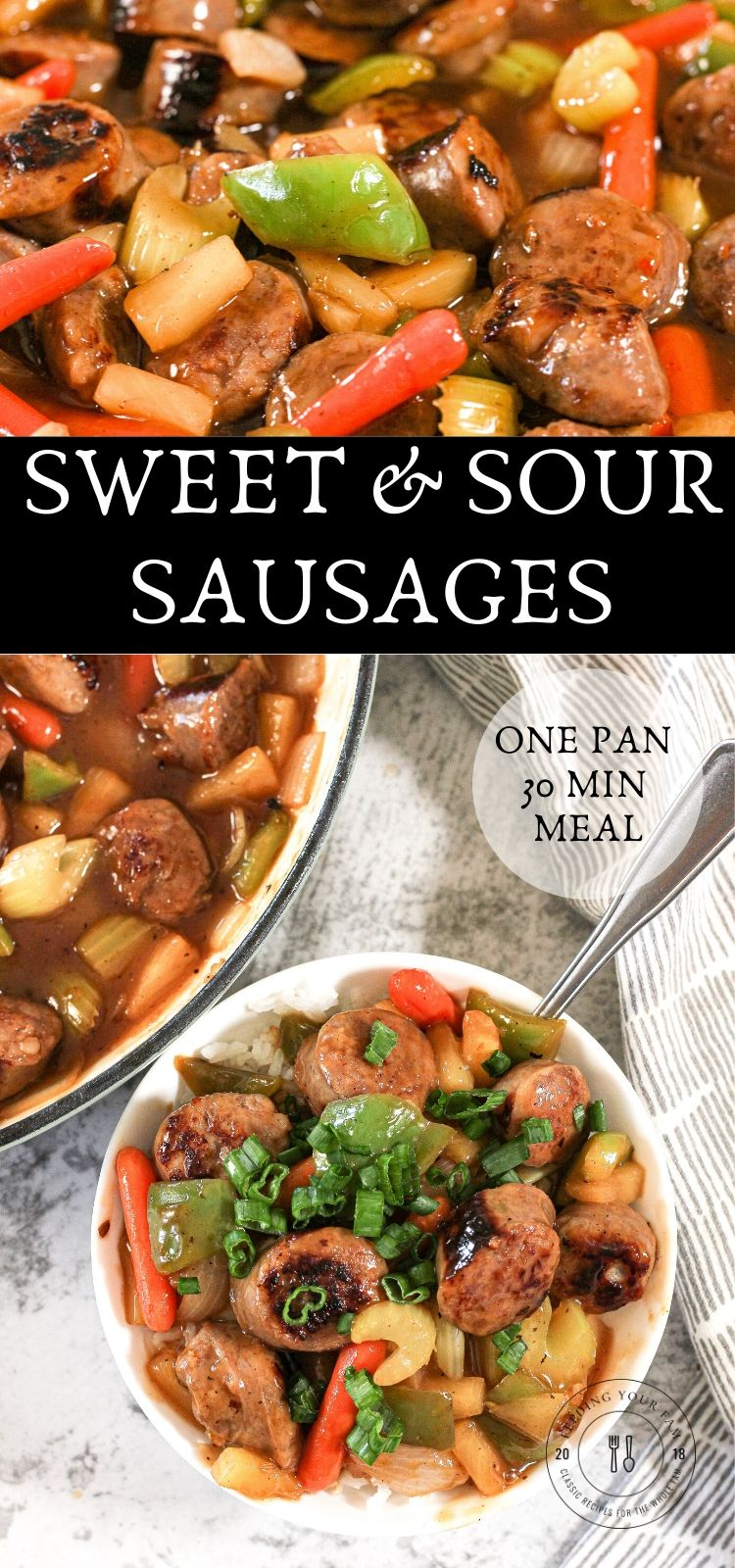 images of sweet and sour sausages