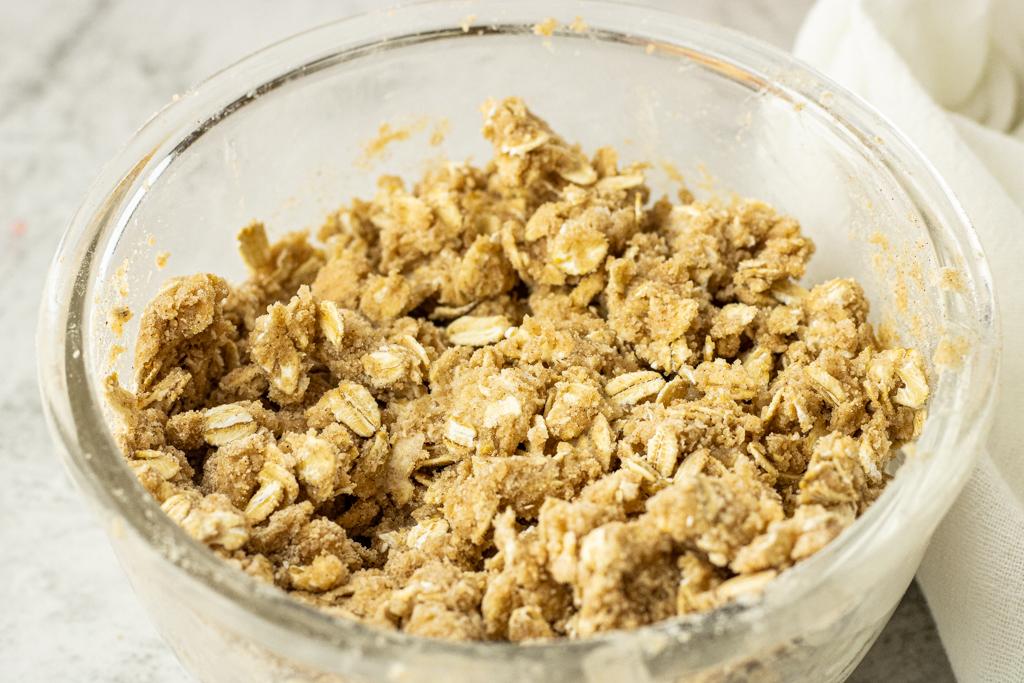 oatmeal topping for crisp recipe