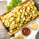 baked potato pieces