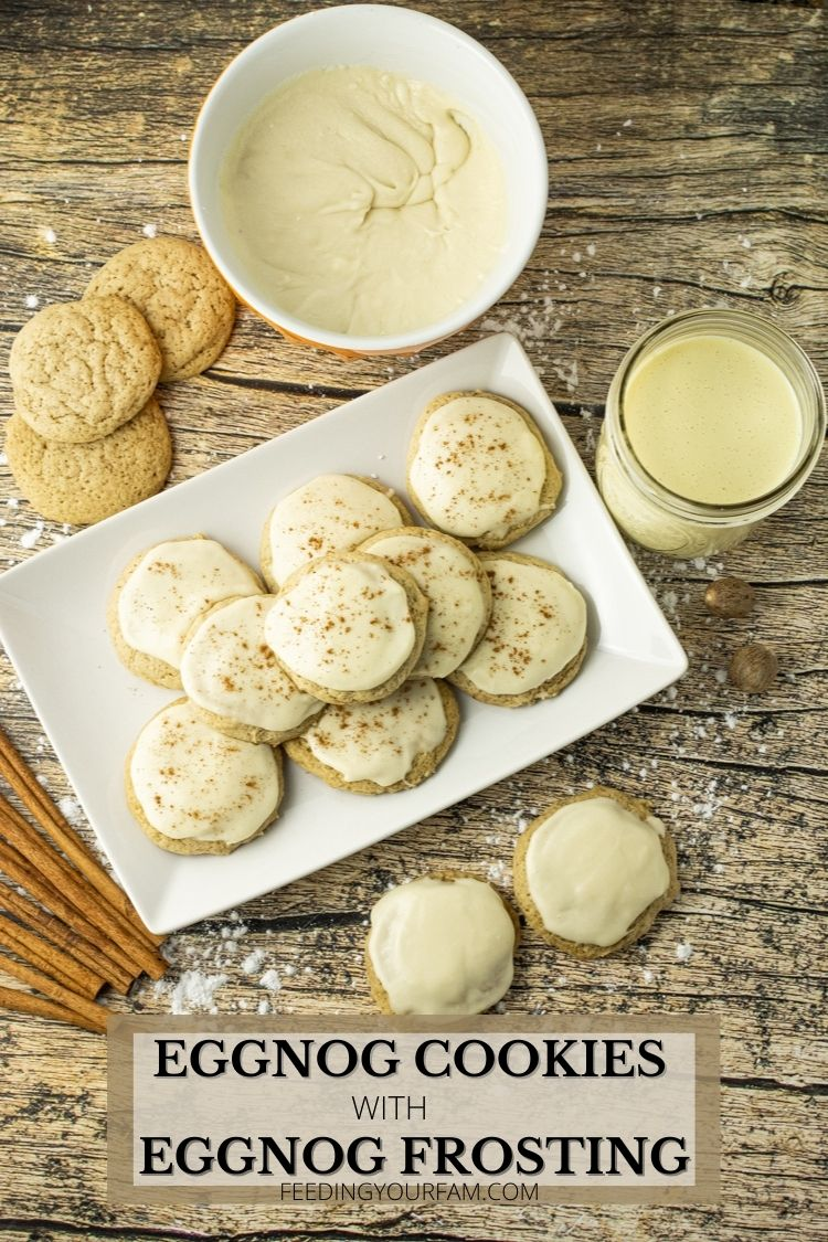 cookies made from eggnog