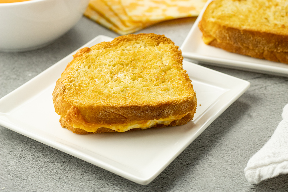 golden grilled cheese
