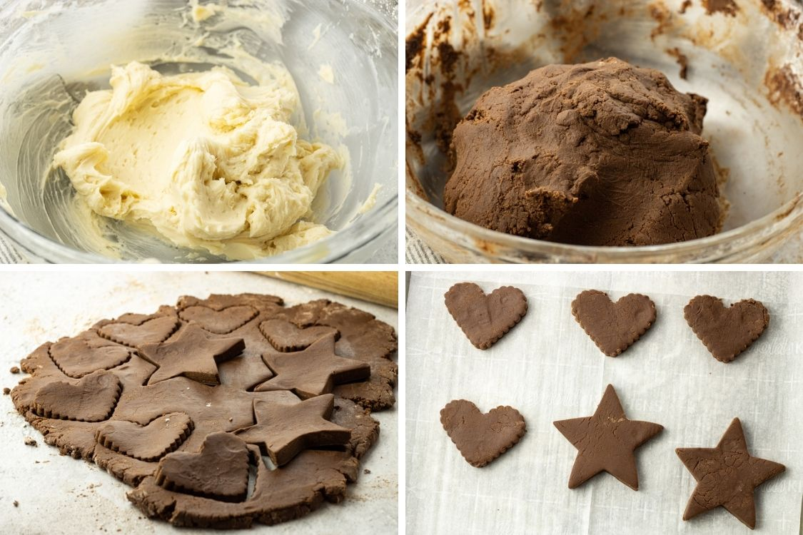 steps to make chocolate cookies