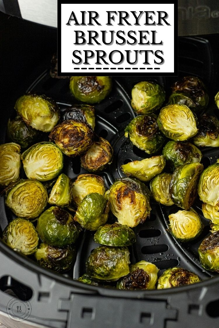 Air Fryer Brussel Sprouts are so simple to make, only take a few ingredients and make a delicious vegetable side dish to any meal. Brussel sprouts cooked in the air fryer come out cooked to tender perfection in the center with a delicious crispy, caramelized outer shell.