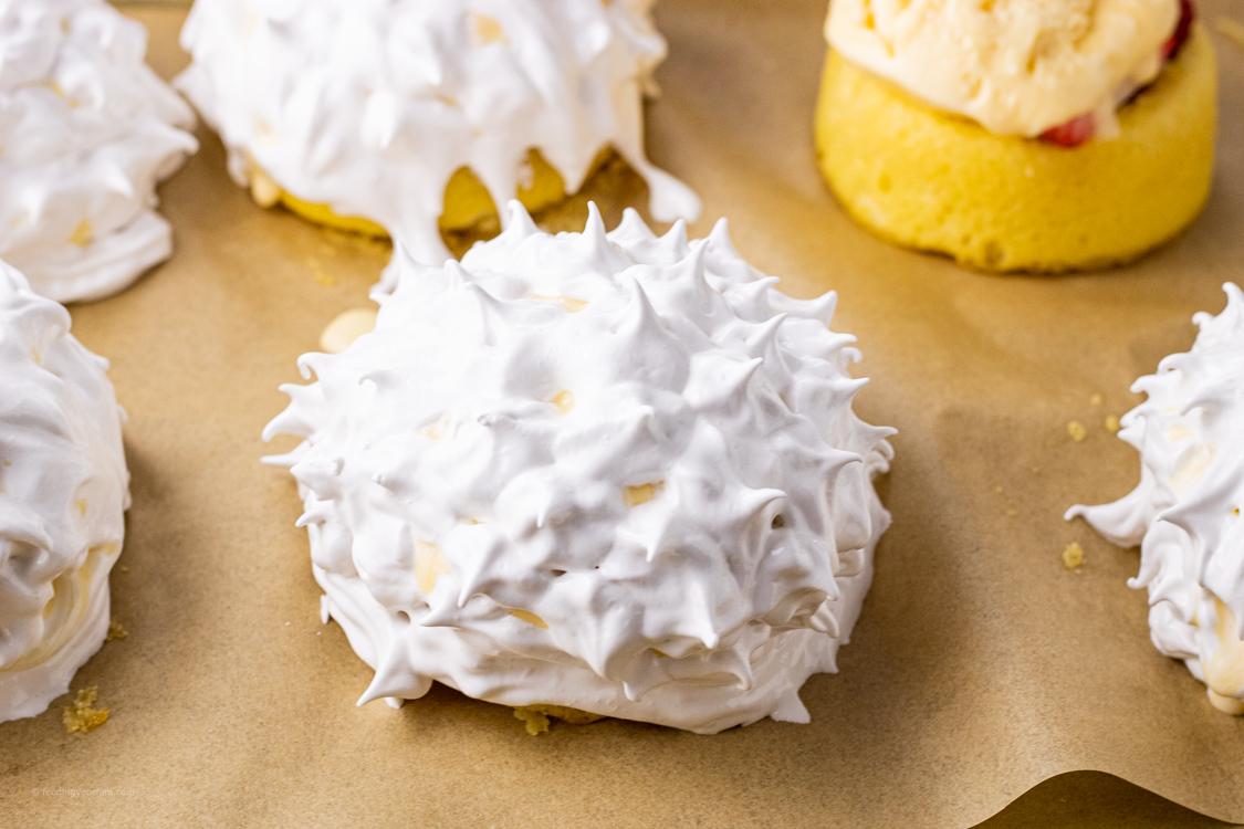 meringue topped baked alaska