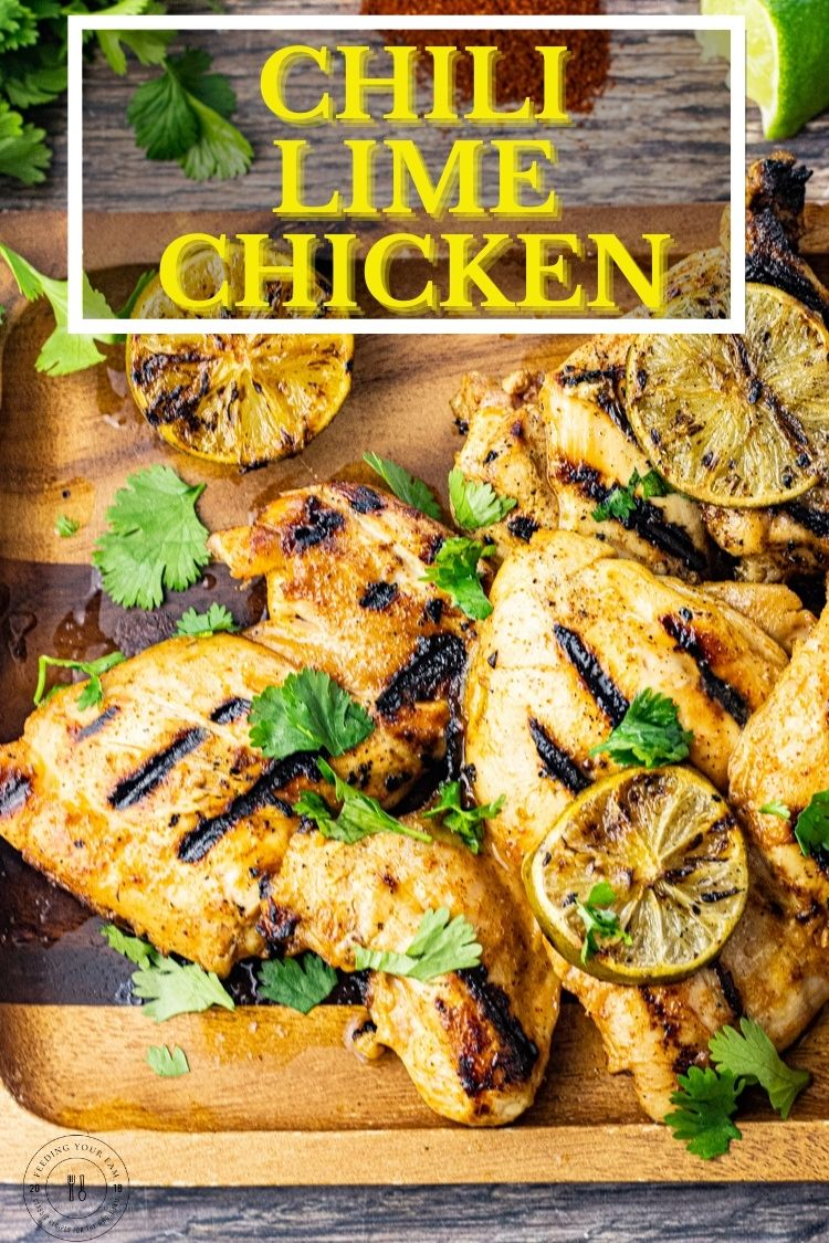 This Chili Lime Chicken Recipe is perfect for making grilled chicken thighs or even chicken breasts. The lime flavor adds a delicious tanginess to the chicken while the marinade is perfectly balanced out with the addition of honey while the chili powder adds a little spicy kick and loads of flavor.