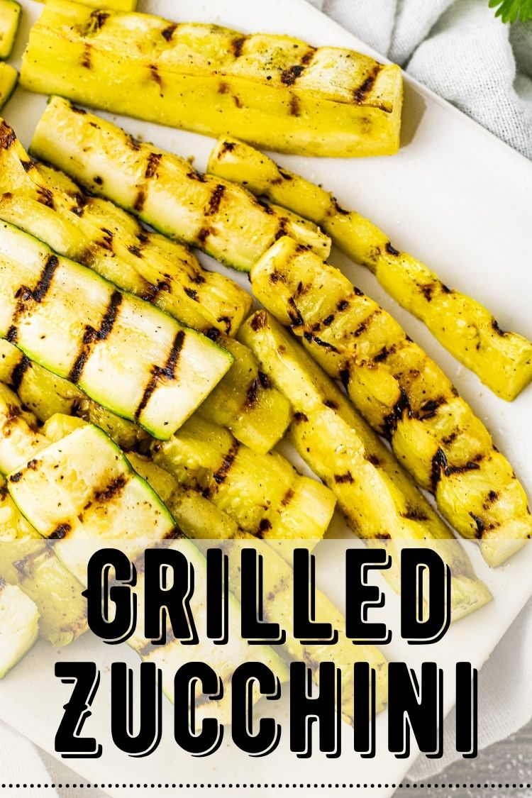 Grilled Zucchini is a simple and delicious barbecue side dish. Grilled Zucchini and Squash are simply seasoned with salt, black pepper, garlic powder and onion powder. This is such an easy dish that the whole fam always loves.