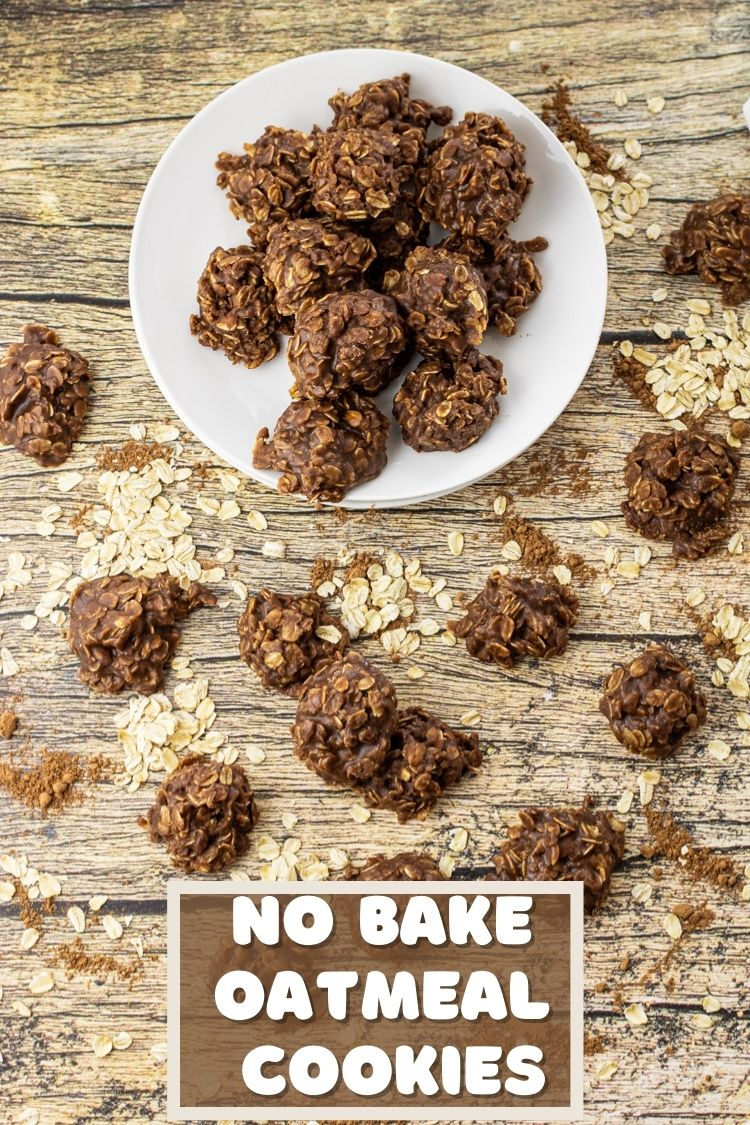 No Bake Chocolate Oatmeal Cookies are with 7 simple ingredients and are ready in just 10 minutes. Satisfy that sweet tooth!!