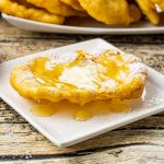 fry bread with honey and butter